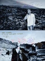 Ukendt kunstner. Olie på lærred. To billeder med motiv af Nik og Jay (2)