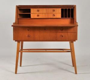 m bler sekret r i teak 1950 60 tal se. Black Bedroom Furniture Sets. Home Design Ideas