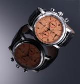 Belgravia Watch Co. `Chronotempo´. Limiteret herrearmbåndsur i stål med certifikat