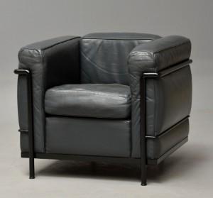 le corbusier lc2 sessel. Black Bedroom Furniture Sets. Home Design Ideas