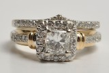 Diamond ring - and a ring with diamonds (2)