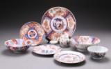 Samling porcelæn Japan/Kina 1700-1800 tallet (8)