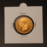 Dansk Guldmønt, 20. krone guld 1908, VBP