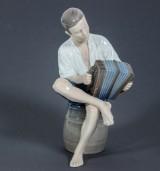 Figurin, porslin, Ingeborg Plockross Irminger för Bing & Gröndahl, 1962-1970