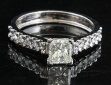 14kt. diamond ring approx. 1.00ct