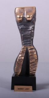 Carsten Hansen, født 1972: Bronzefigur, Skinny Lady