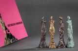 Bronzeskulptur serie af Liné Ringtved Thordarson (4)