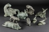 Skulpturer af bronze (9)