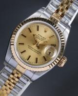 Rolex 'Datejust' Damenuhr, 14 kt. Gelbgold und Stahl, ca. 1993