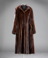 Mink coat, size approx. 42-44