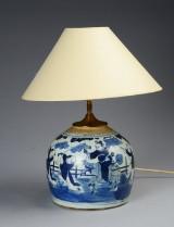 Kinesisk bojan af porcelæn, 1700-tallet