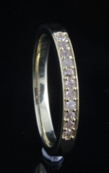 Diamond ring approx. 0.10ct<br>
