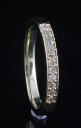 Diamond ring approx. 0.10ct