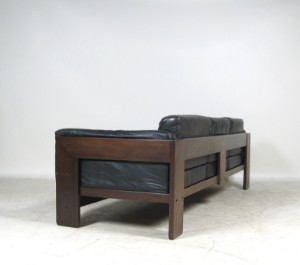 tobia scarpa 3er sofa bastiano f r gavina oder knoll. Black Bedroom Furniture Sets. Home Design Ideas