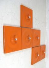 Klaus Hempel, set of wall lamps, 1970s for Kaiser (6)