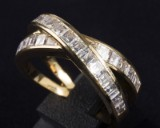 An original Chopard ring with diamonds, ref. no. 823052-0001
