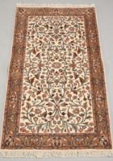 Indisk tæppe, Keschan, 88 x 162 cm