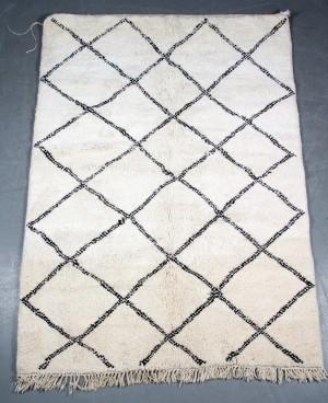 marokkansk tæppe Marokkansk Berber tæppe. Håndknyttet Marokkansk tæppe. Ren uld  marokkansk tæppe