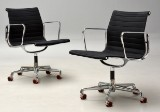 Charles Eames. Pair of office chairs, model EA-108/117 (2)