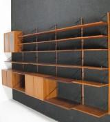 Poul Cadovius, a large shelf system, model Cado Royal in teak (39)
