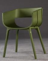 Casamania Maritime chair, designed by Benjamin Hubert in green