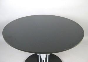 esstisch der 1960 70er jahre mit granitplatte und. Black Bedroom Furniture Sets. Home Design Ideas
