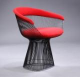 Warren Platner. Armchair, wire chair model 1725