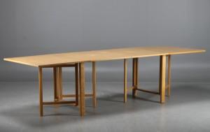 Matbord För 10 Personer : Auktionstipset bruno mathsson dux slagbord maria flap