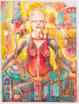 Mette Munch, Acryl auf Leinwand, 2008