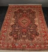 Persisk Kashmer figural. Ren uld på bomuld. Ca.12 kvm