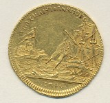 Denmark 1 ducat 1746 gold