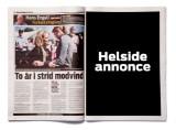 Helsides annonce i Ekstra Bladet