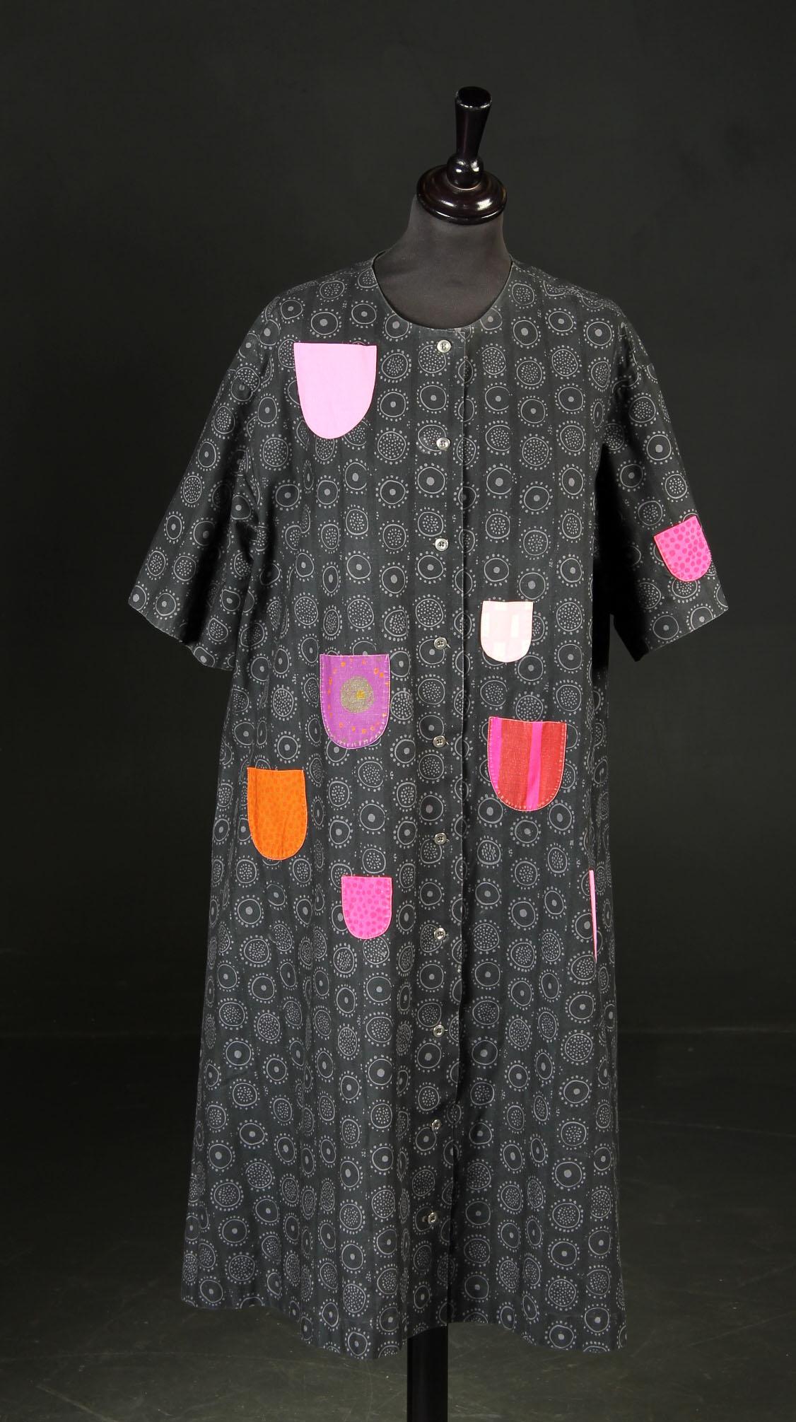 marimekko kjole med lommer