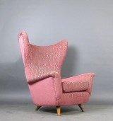 Lounge chair/wingback chair, 1950s/1960s in the style of Gio Ponti