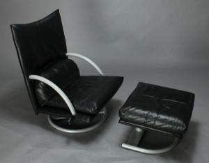 m bel bmp polsterm bel rolf benz hvilestol samt skammel 2 dk aarhus eg. Black Bedroom Furniture Sets. Home Design Ideas