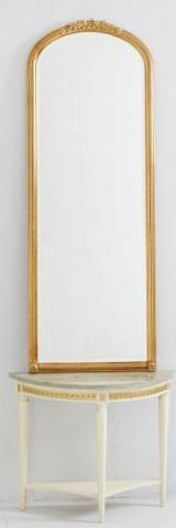 Spegel med konsolbord