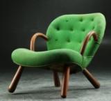 Philip Arctander. Lounge chair, Clam Chair