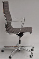Charles Eames. Office chair, model EA-119, leather