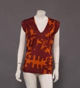 Isabel Marant T-Shirt, mønstret str. X-small