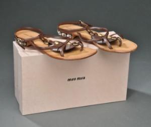 8a1f048ec2b2 Slutpris för Miu Miu sandal