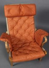 Hyndesæt til Bruno Mathssons Pernilla-stol. Anilinlæder (4)