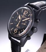 Bell & Ross 'Vintage BRV126-94 Heritage'. Herreur i PVD-behandlet stål, 2010'erne