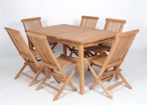 havemøbler teak Havemøbler. Bord samt seks stole. Teak. (7) | Lauritz.com havemøbler teak