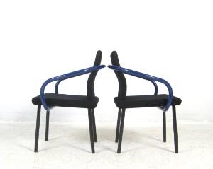 ware 3438830 ettore sottsass set st hle modell mandarin f r knoll international 8. Black Bedroom Furniture Sets. Home Design Ideas