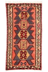 Persisk Shahsavan Kelim 285 x 145 cm.