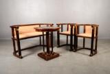 Salon set, 20th century, classicism