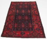 Handknuten persisk gallerimatta, Hamedan 160 x 105 cm