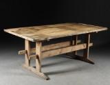Bockbord, allmoge, 1800-talets senare del