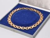 Klassisk kraftig murstens halskæde