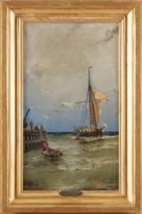 Christian Fredrik Swensson oljemålning